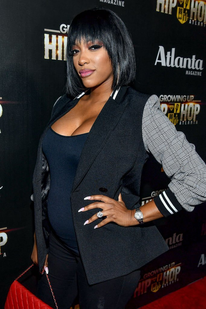 "Porsha Williams attends WE tv Celebrates The Return Of ""Growing Up Hip Hop Atlanta"" at Club Tongue & Groove 