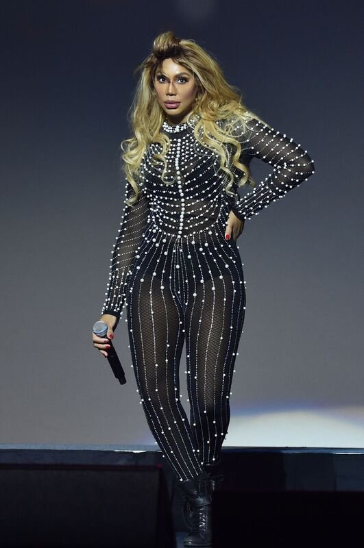 Tamar Braxton performing on-stage | Source: Getty Images/GlobalImagesUkraine