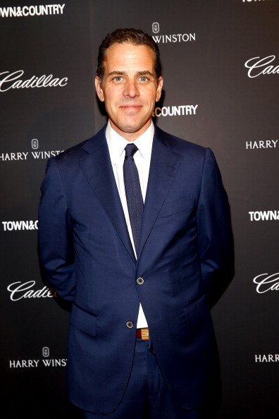 Hunter Biden at Lincoln Center with Town & Country in New York City.| Photo: Getty Images.