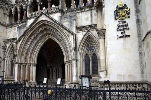 Courts de justice à Londres. | Shutterstock