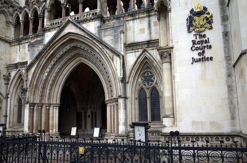 Courts of Justice in London. | Shutterstock.