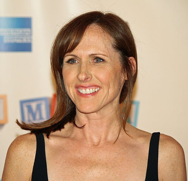 "Molly Shannon at the premiere of ""Baby Mama"" at the 2008 Tribeca Film Festival. 