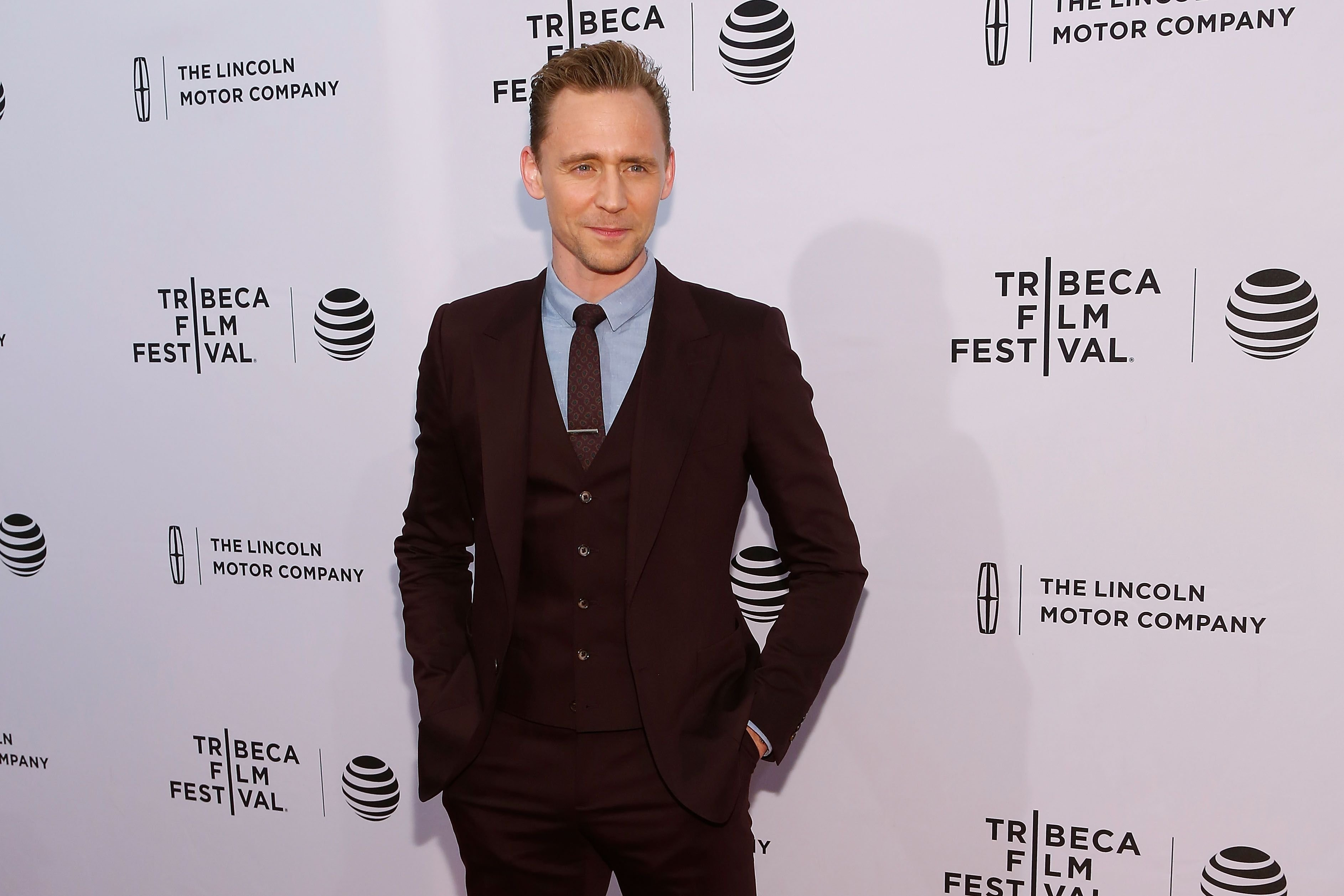 "Tom Hiddleston at the premiere of ""High-Rise"" during the 2016 Tribeca Film Festival in New York City 
