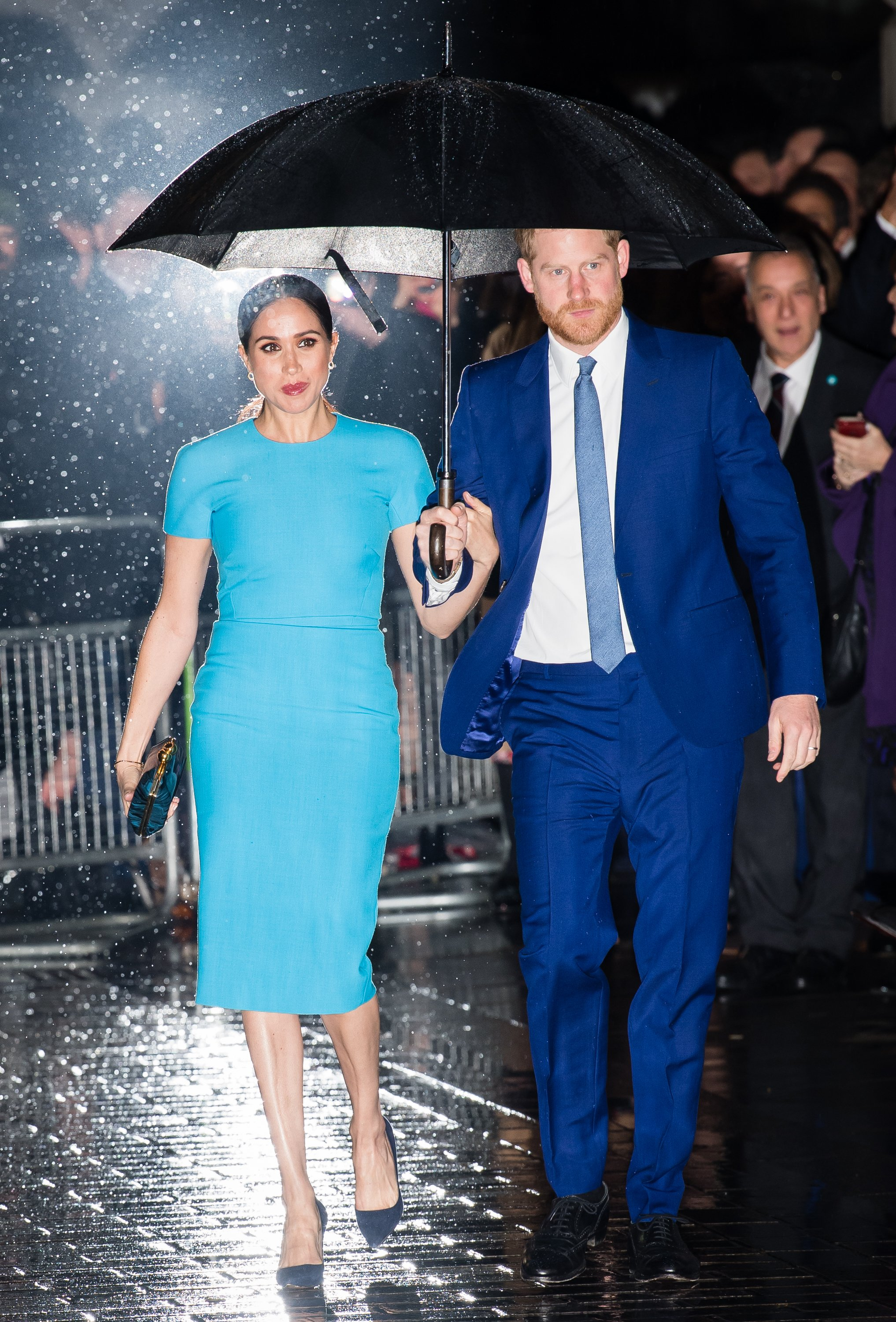 Prince Harry and Meghan Markle attend The Endeavour Fund Awards on March 05, 2020, in London, England | Photo: Getty Images.