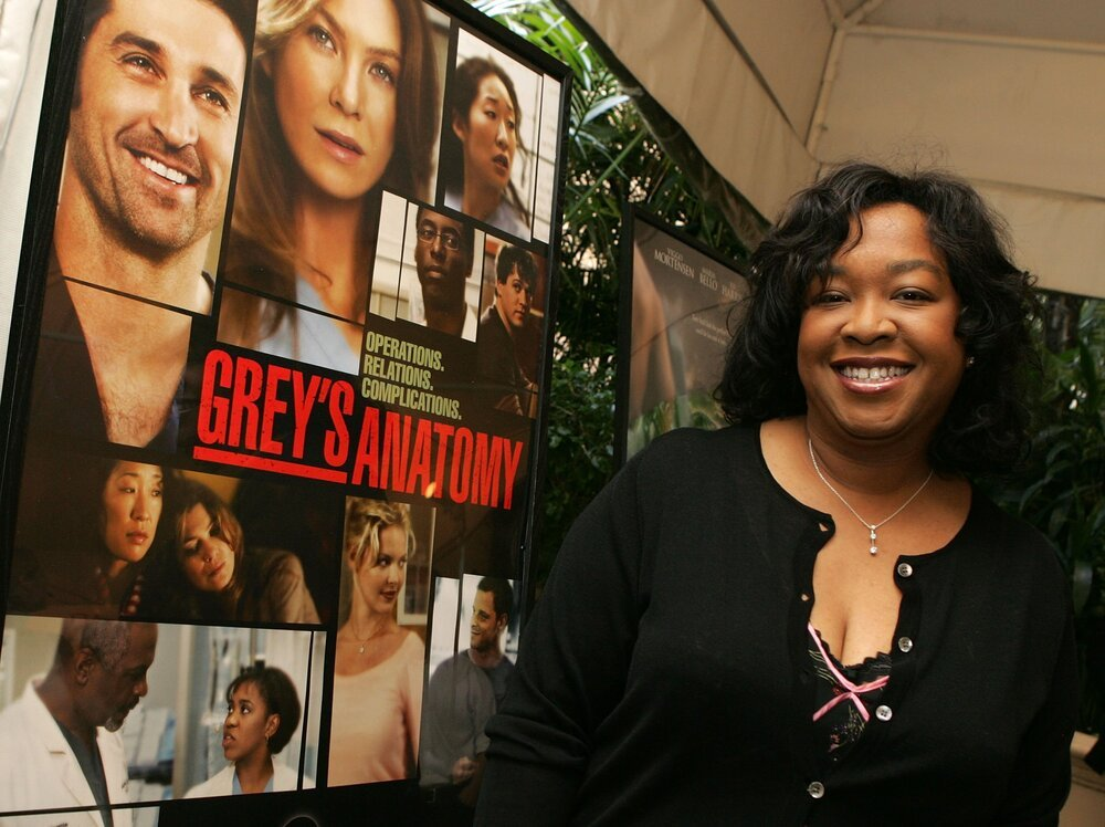 Shonda Rhimes arriving at the AFI Awards Luncheon 2005 in Los Angeles, California, in January 2006.   Image: Getty Images.