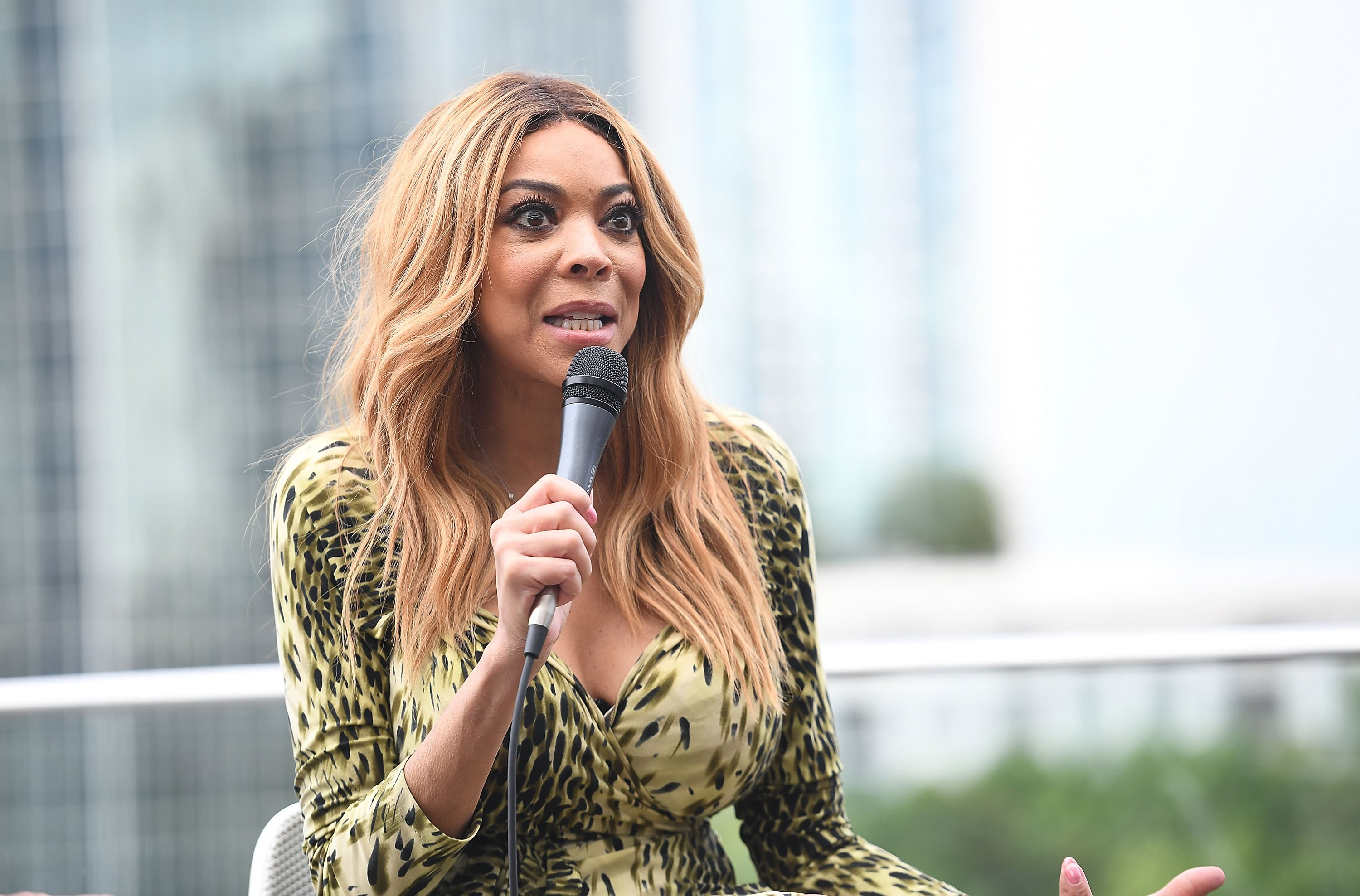 "Wendy Willams, host of ""The Wendy Williams Show"" 