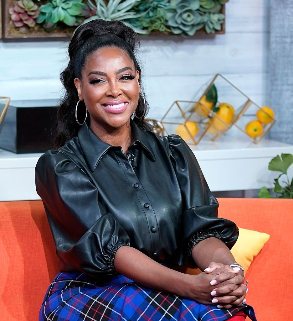 """Kenya Moore visits BuzzFeed's """"AM To DM"""" on November 04, 2019. 