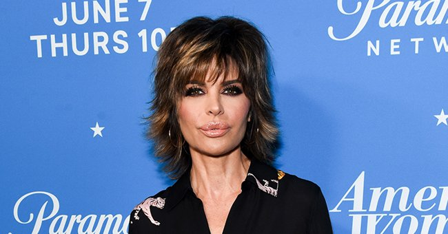 """Lisa Rinna at the premiere of Paramount Network's """"American Woman,"""" 2018, Los Angeles, California. 