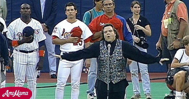 Meat Loaf Performed Amazing Version of the National Anthem That Still Bewitches People