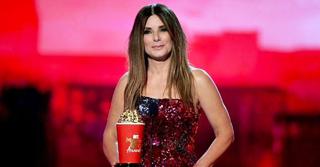 Sandra Bullock Turns Heads at the MTV Awards