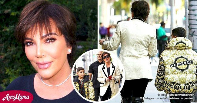 Kris Jenner buys $3,000 puffer coat for her 9-year-old grandson on his birthday