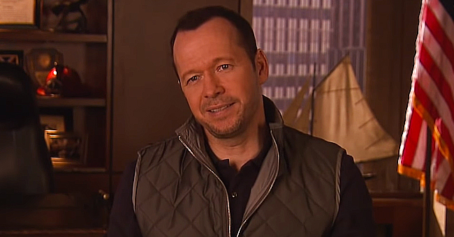 Donnie Wahlberg of 'Blue Bloods' Is a Loving Son to Mom Alma (Photo)