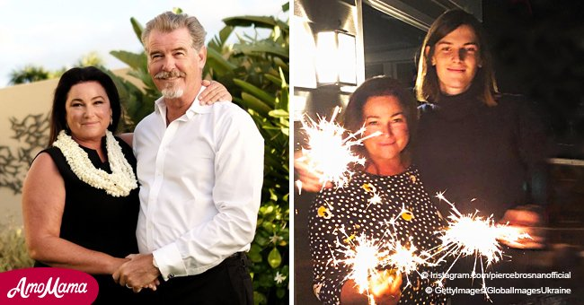 Pierce Brosnan shares a photo of lookalike son celebrating his 22nd birthday