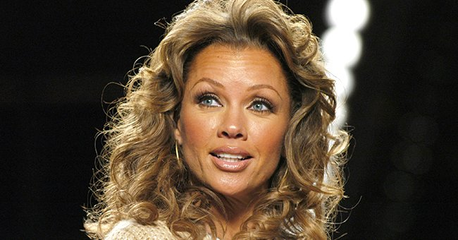 Vanessa Williams Looks Timeless Showing Hourglass Figure in White Swimsuit at Beach