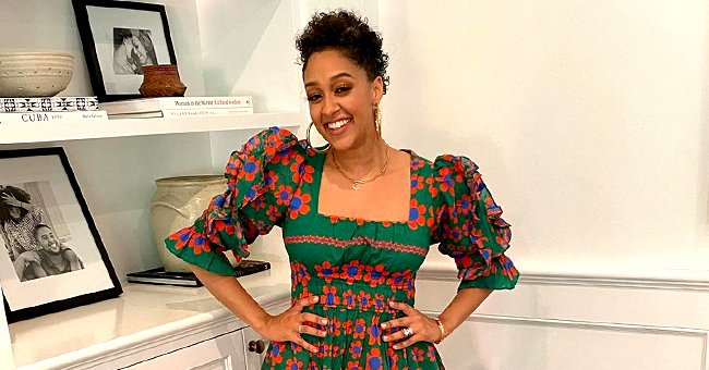 Tia Mowry Proudly Shows off Her Gray Hair in a Glowing Selfie