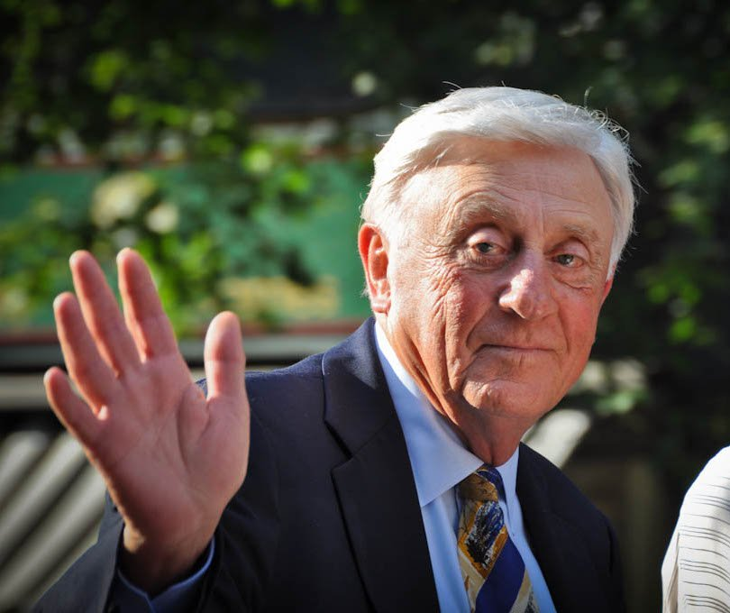 Hall of Fame pitcher, Phil Niekro, on July 27, 2013   Photo: Chris Evans, CC BY 2.0, Wikimedia Commons