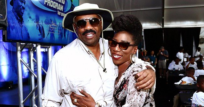 Steve Harvey's Twin Daughter Brandi Reveals What She Likes in a Man