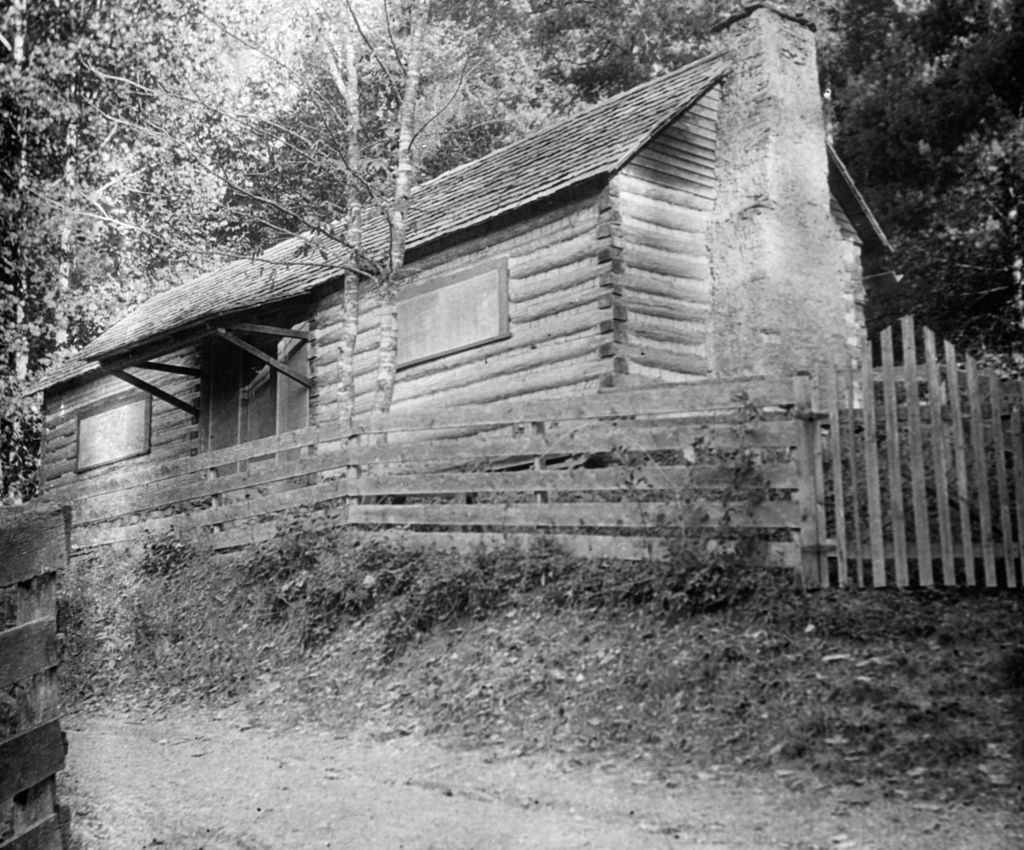 Folk singer's house, Appalachia, USA, c1917. Image Credit: Getty Images