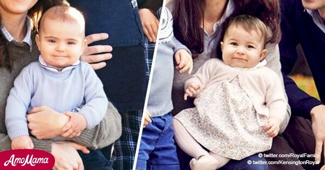 Princess Charlotte was the little royal star until the camera captured Prince Louis in pants