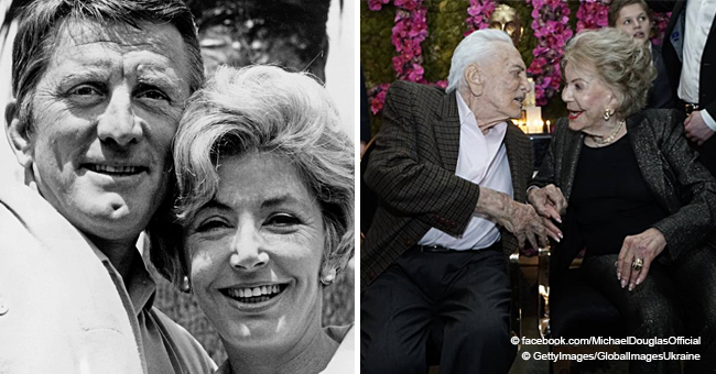 Kirk Douglas' Wife Turns 100 and Has Been Married to the Hollywood Legend for 65 Years