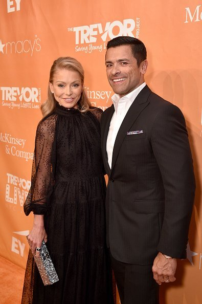 Kelly Ripa and Mark Consuelos at the TrevorLIVE NY 2019 at on June 17, 2019 | Photo: Getty Images