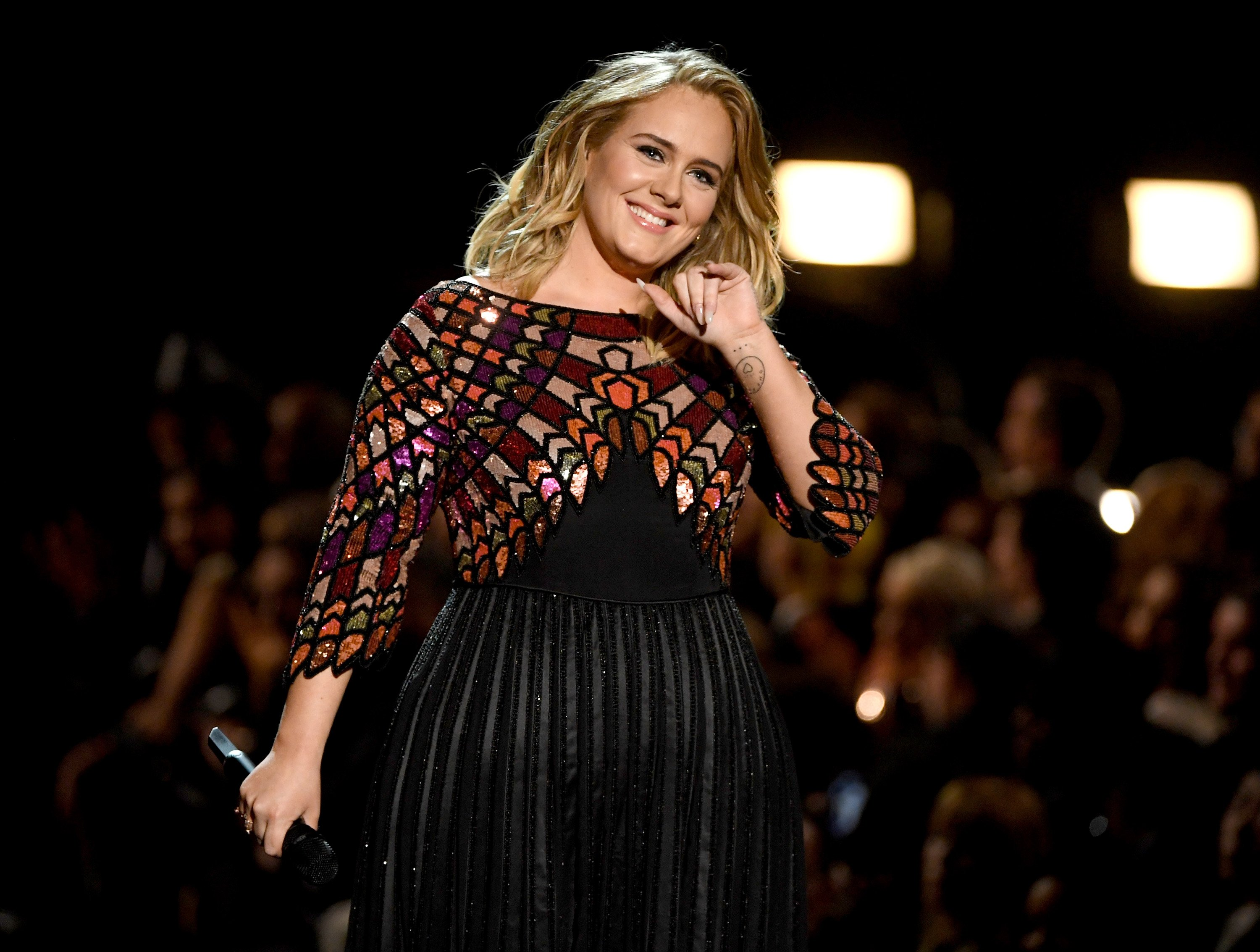 Adele performs onstage during The 59th GRAMMY Awards on February 12, 2017, in Los Angeles, California. | Source: Getty Images