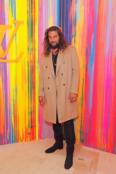 Jason Momoa at the re-opening of the Louis Vuitton New Bond Street Maison on October 23, 2019 | Photo: Getty Images