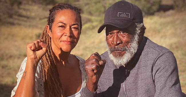 'Good Times' Star John Amos' Daughter Shannon Holds Hands with Dad in a Sweet Photo