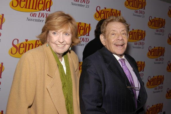 Anne Meara and Jerry Stiller on November 17, 2004 at the Rainbow Room in Rockefeller Center, New York City | Photo: Getty Images