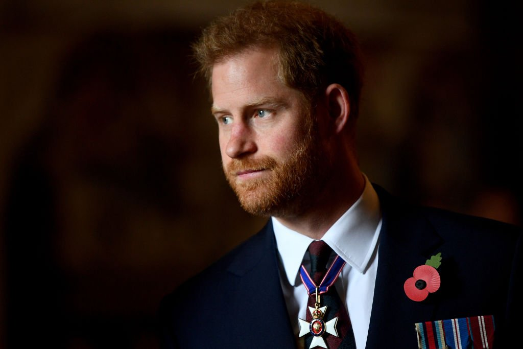 Prince Harry, Duke of Sussex attends the ANZAC Day Service of Commemoration and Thanksgiving | Photo:  Victoria Jones - WPA Pool/Getty Images