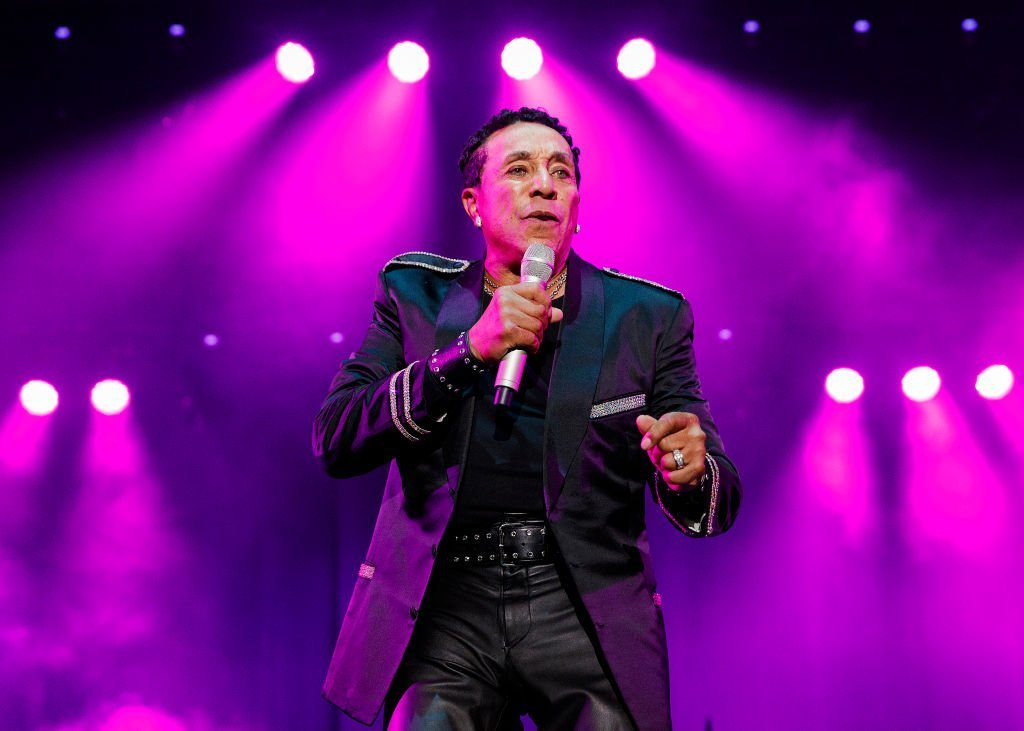 Smokey Robinson performs on stage during Summer Night Concerts at PNE Amphitheatre | Getty Images