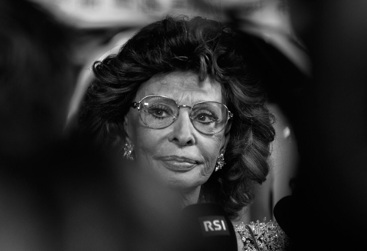 Sophia Loren attends a special tribute to Sophia Loren. Source: Getty Images