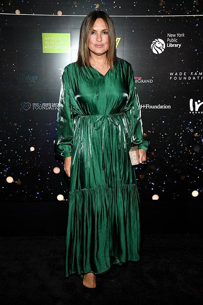 Mariska Hargitay attends Samsung Gives Annual Charity Gala at The Manhattan Center   Photo: Getty Images
