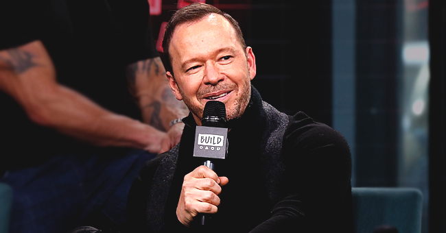 Donnie Wahlberg Receives Birthday Cake of His Face from 'Blue Bloods' Background Actors