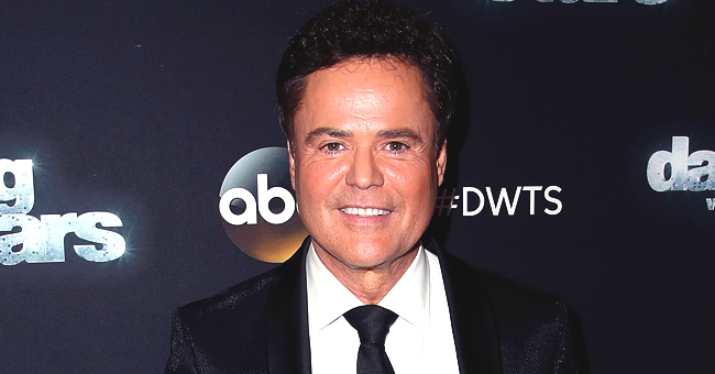 Donny Osmond Enjoys Popsicles with His Grandkids in the Pool (Photo)