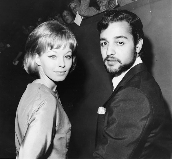 Jill Haworth and Sal Mineo, attends the 35th Academy Awards, Hollywood, CA, September 4,1963. | Source: Getty Images.