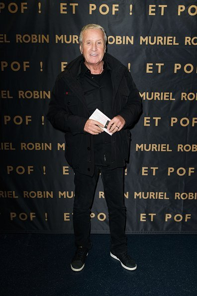 "Yves Renier assiste à l'exposition ""Et Pof"" Muriel Robin One Woman Show au Palais des Sports le 03 octobre 2019 à Paris, France 