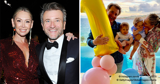 Kym Herjavec Finally Shares New Set of Photos from Her Twins' 1st Birthday Celebration
