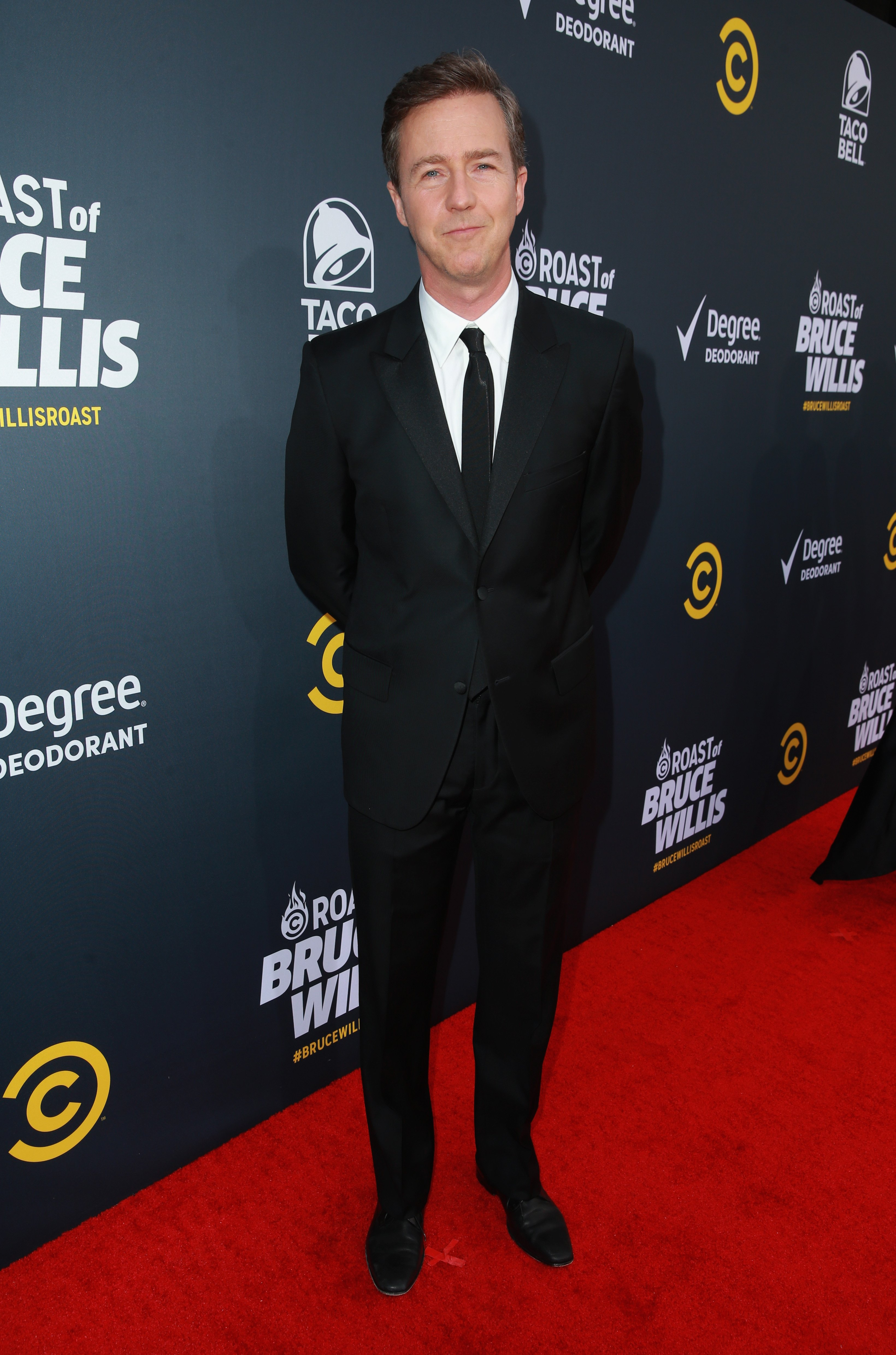 Edward Norton attends the Comedy Central Roast of Bruce Willis in Los Angeles, California on July 14, 2018 | Photo: Getty Images