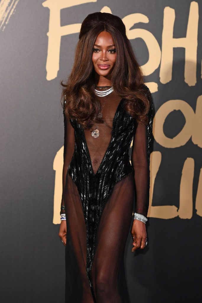Naomi Campbell attends Fashion For Relief London 2019 at The British Museum on September 14, 2019.   Source: Getty Images