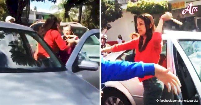 La conductrice frappe un couple de personnes âgées parce qu'ils mettaient trop de temps à traverser la rue