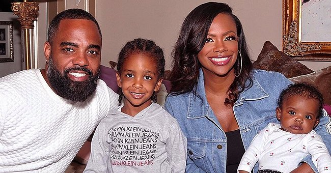 Kandi Burruss' Husband Todd Tucker Reminisces Pre-Pandemic Times with Throwback Photo of Son Ace in NY
