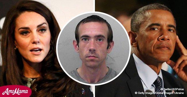 """Ce fabricant de bombes qui en a fabriqué 23 ainsi qu'un """"tableau de la haine"""" mettant en vedette la famille royale et Obama emprisonné"""