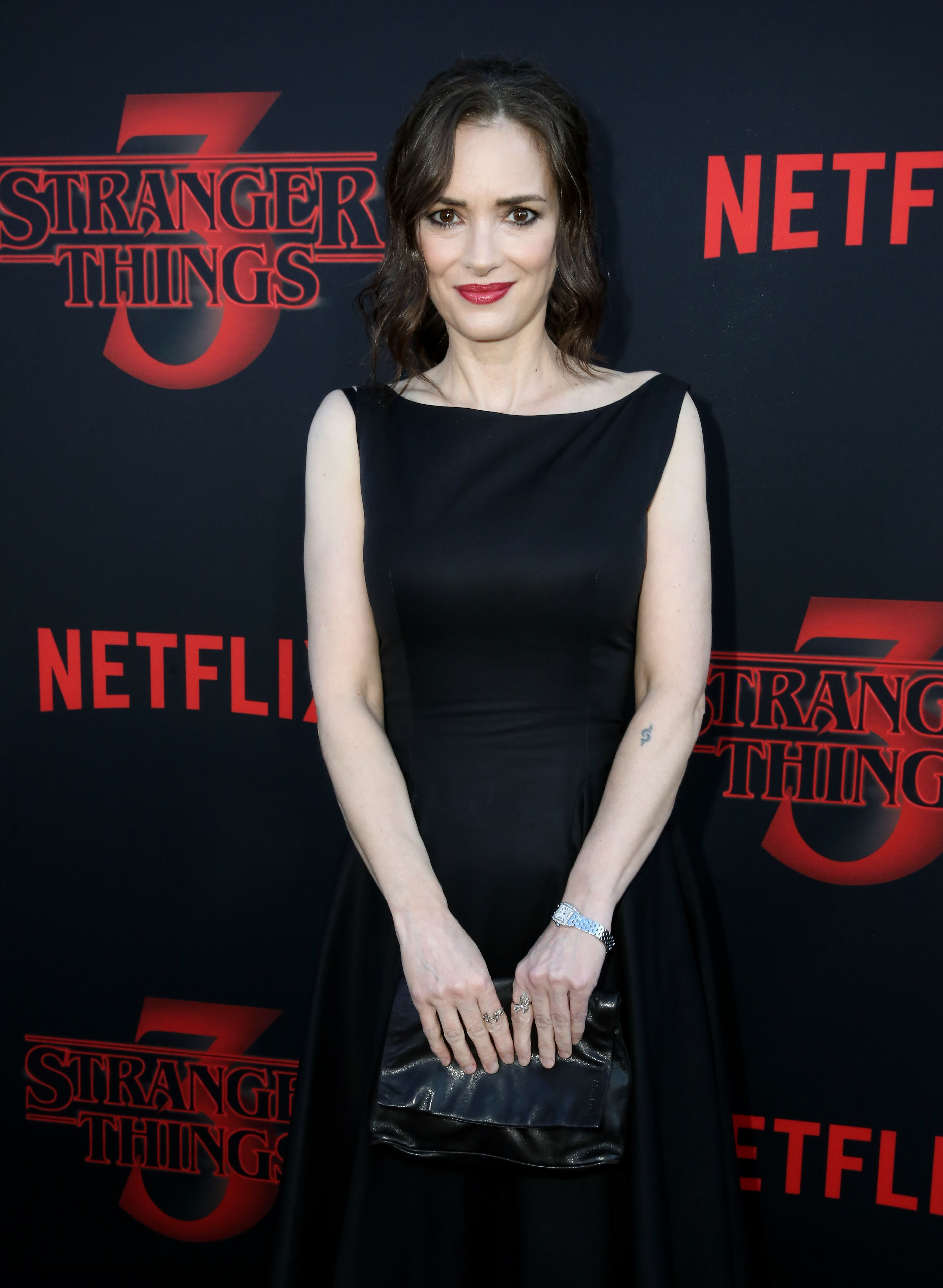"""Winona Ryder attends the """"Stranger Things"""" Season 3 World Premiere on June 28, 2019 
