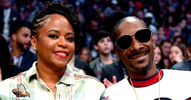 Snoop Dogg's Beautiful Wife Shante Shows off Her All Natural Figure in a Tight Outfit