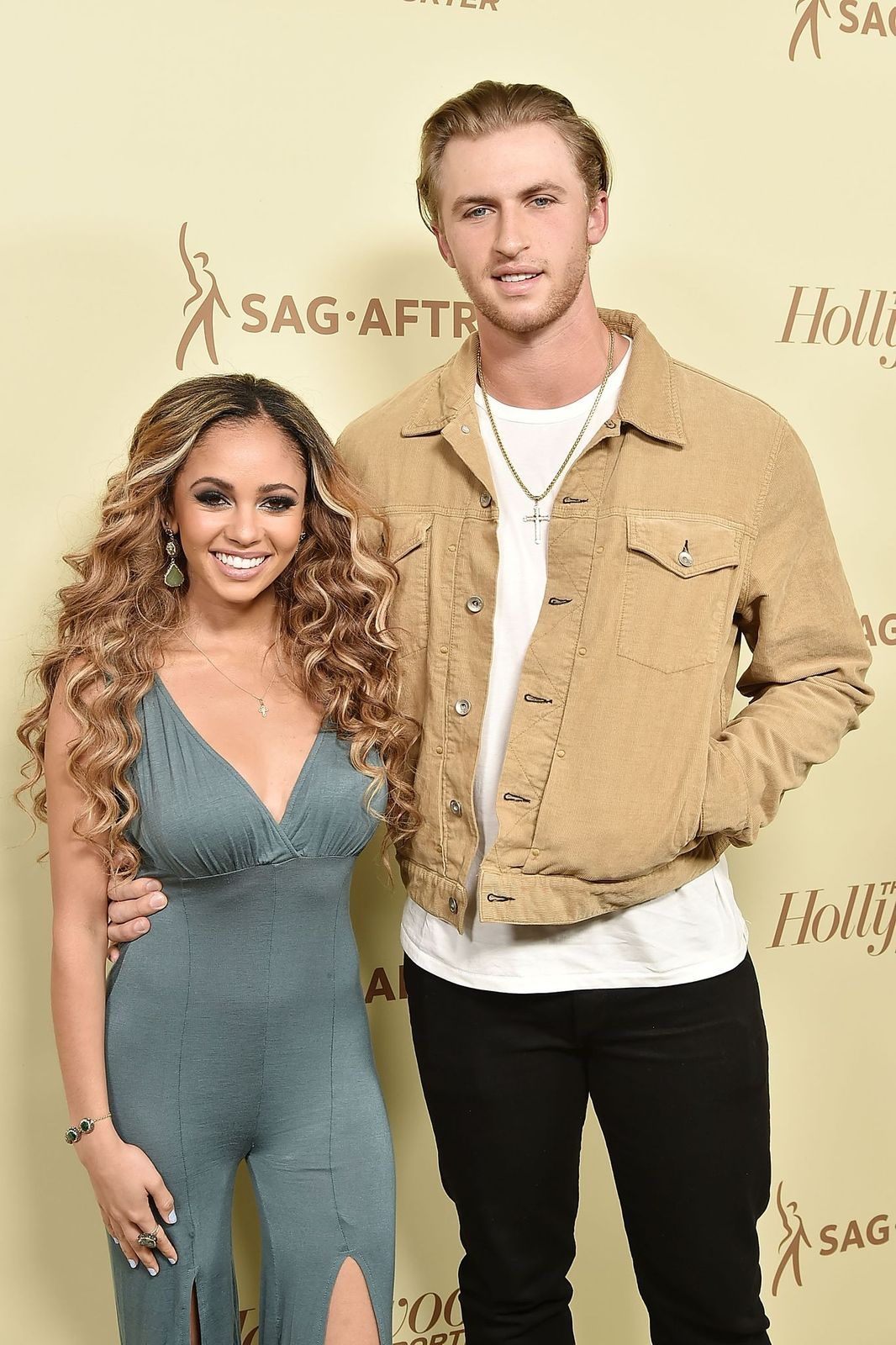 L'actrice Vanessa Morgan et son compagnon le joueur de Baseball Michael Kopech | Photo : Getty Images