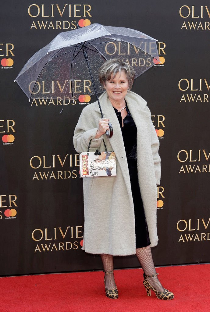 Imelda Staunton attends The Olivier Awards with Mastercard. | Source: Getty Images