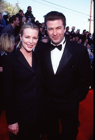 Kim Basinger and second husband actor Alec Baldwin at the Screen Actors Guild Awards in Los Angeles | Photo: Getty Images