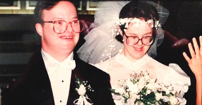 Une veuve trisomique a raconté son histoire d'amour après la mort de son mari, lui aussi trisomique