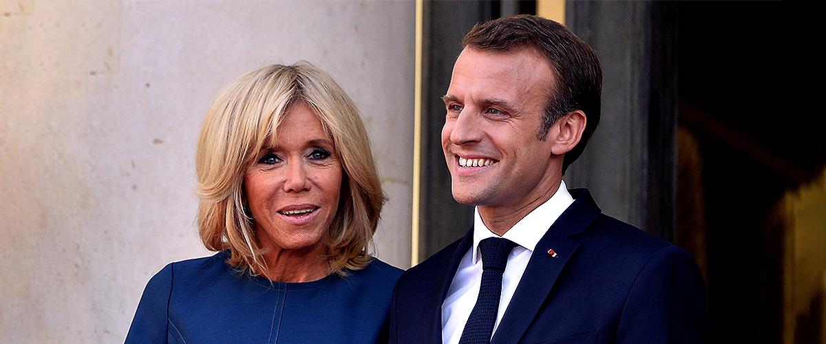 Emmanuel Macron tient Brigitte dans ses bras : une rare photo romantique du couple présidentiel